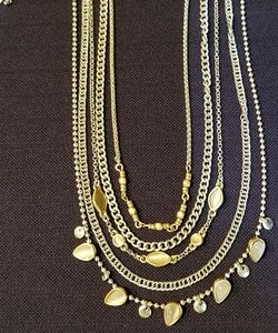 Lucky Brand Lucky Layers multi strand necklace NWT
